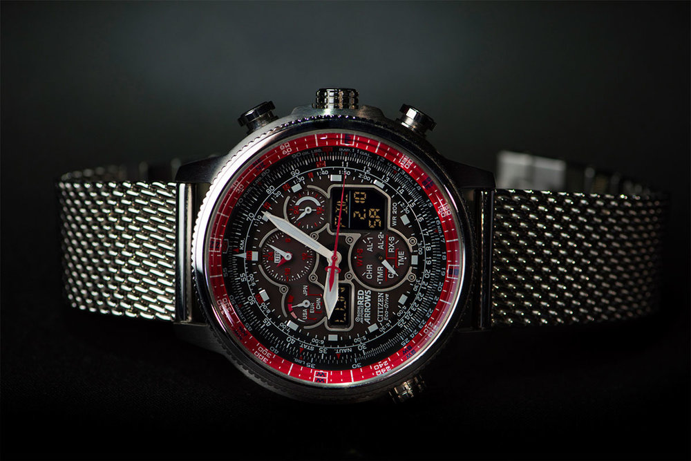 Citizen  Red Arrows Navihawk JY8040-55E - Limited edition