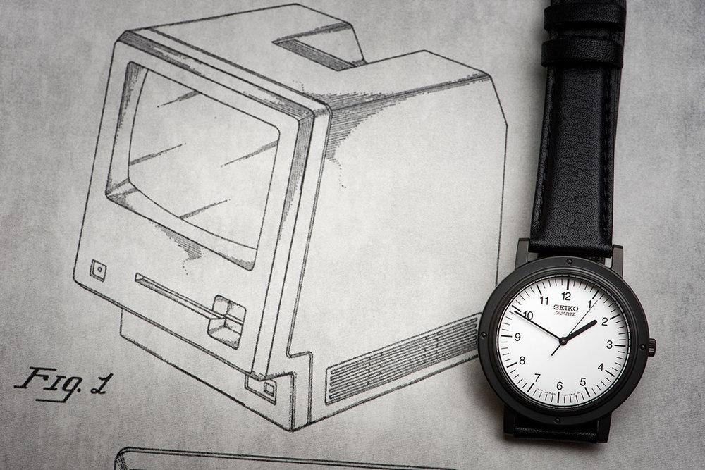 """Seiko Nano Universe """"Steve Jobs"""" Chariot Watch SCXP041"""