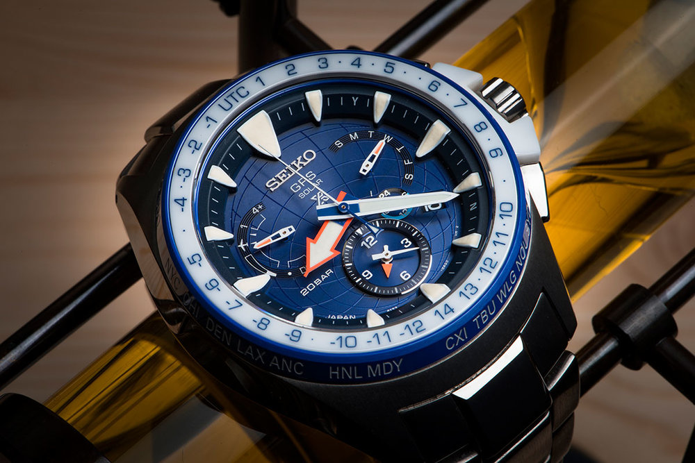 Seiko SSF001J1 Limited Edition Prospex Elite Marinemaster GPS