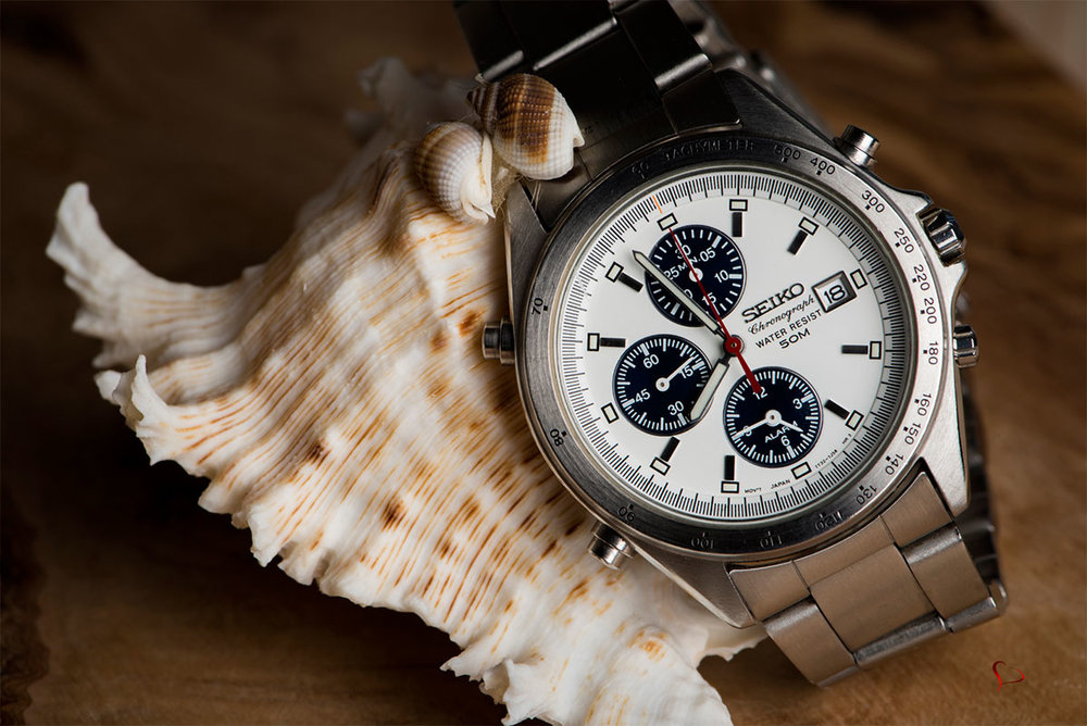 Seiko 7T32-7F80 Chronograph vintage watch