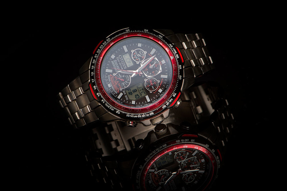 Citizen SkyHawk A-T Red Arrows Eco Drive Watch JY0110-55E