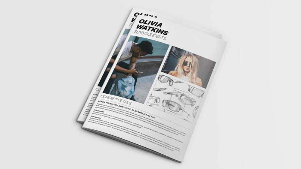 Olivia Watkins - Personal Brandmark + Lookbook Design