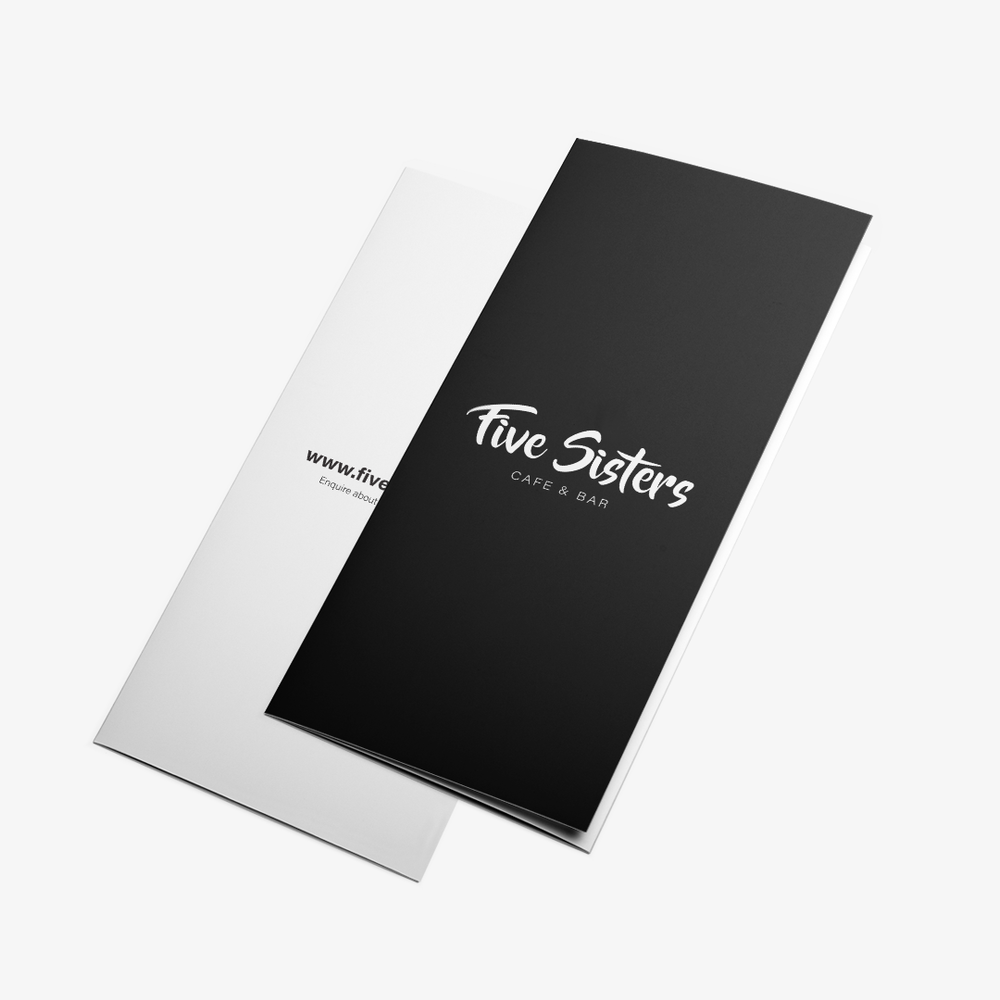 Five Sisters Cafe / Rebranding Project