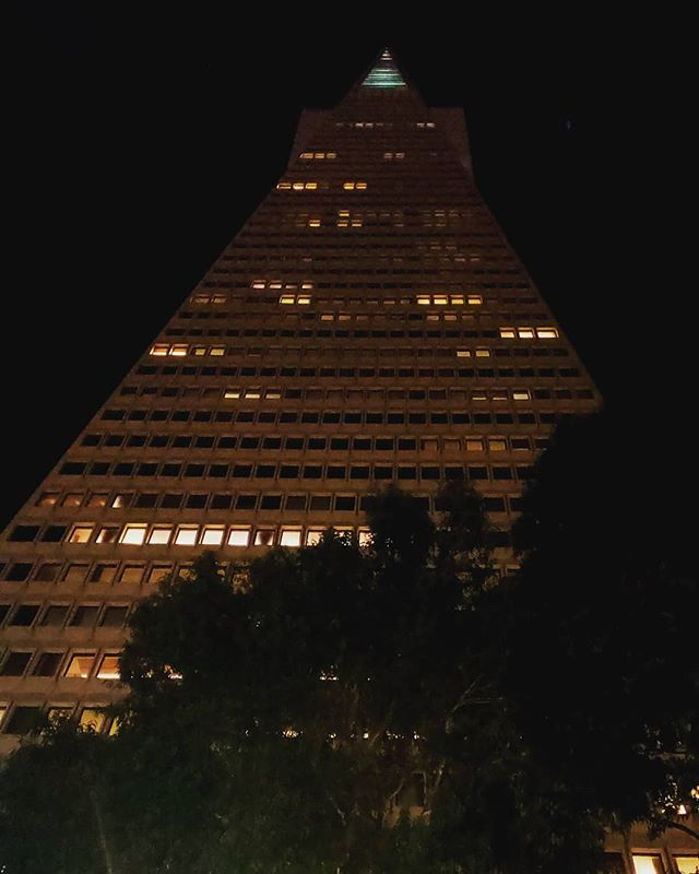 #transamerica building in #sanfrancisco #california