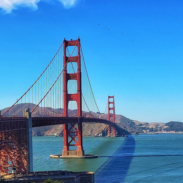 #goldengatebridge #gold #bridge #california #goldenstate #uber #sanfrancisco #bay