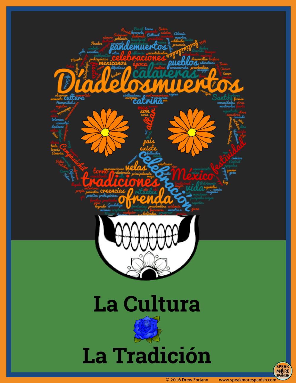 Dia de los Muertos - Free Spanish Poster