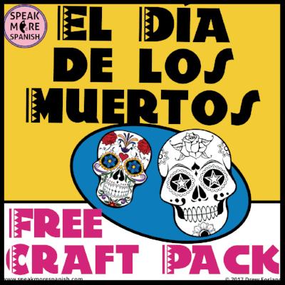 El Día de Los Muertos Free Craft Pack