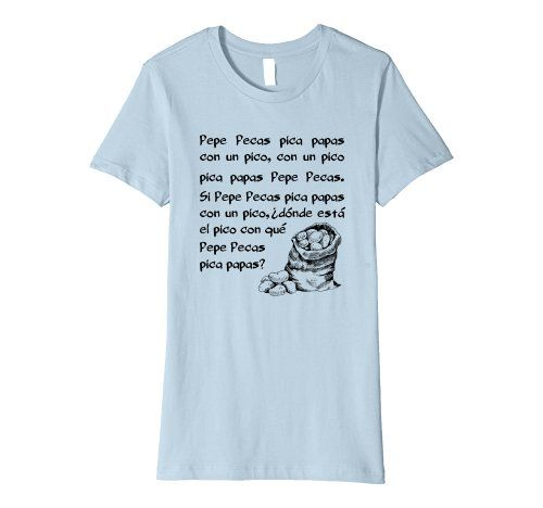 Pepe Pica Tongue Twister - Click image to see all shirt options