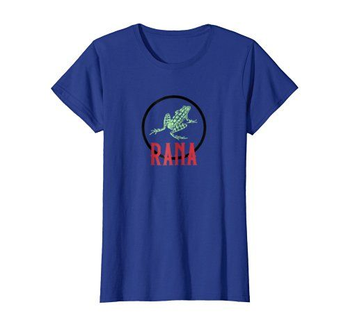 Rana Frog Tee 1 - Click image to see all shirt options