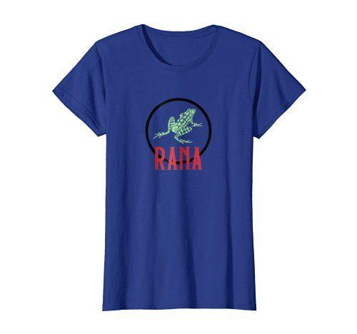 Rana Frog Tee 1 -      Click image to see all shirt options