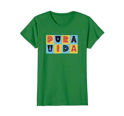 Costa Rica Pura Vida - Click here to see all T-shirt options