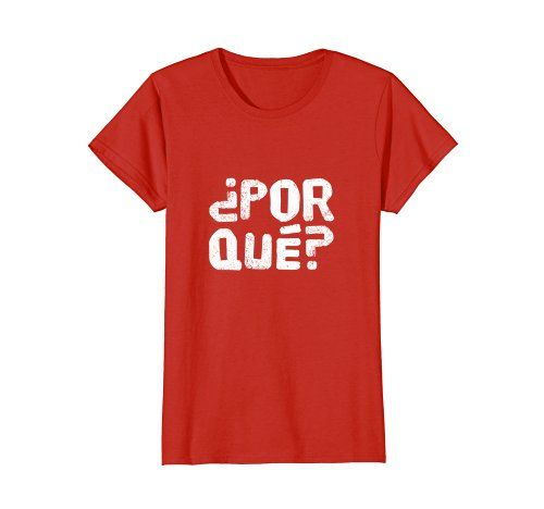 Hipster Por Qué Shirt - Click image to see all options