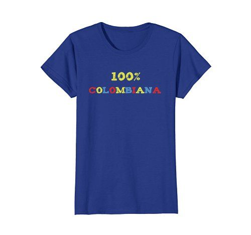 100% Colombiana -   Click image to see all T-shirt options