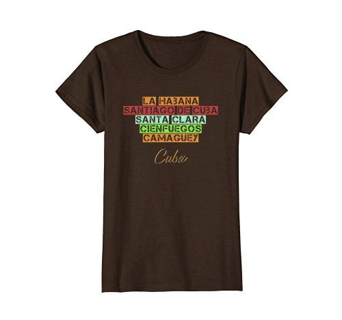 Cuban Cities Tee - Click image to see all T-shirt options.