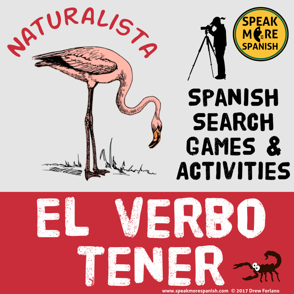 Speak More Spanish Game El Verbo Tener