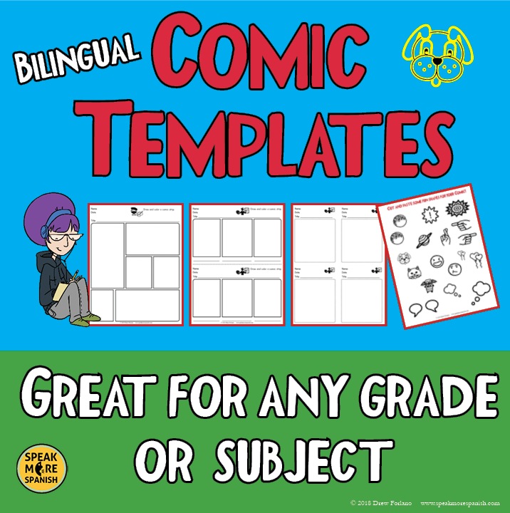 Free Comic Strip Templates -