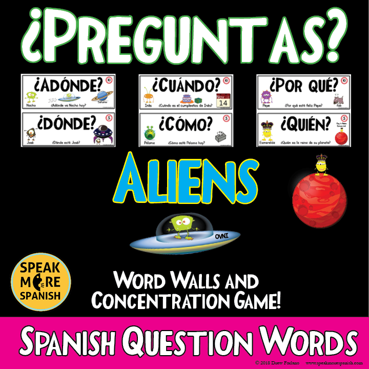 Games are great way to learn Spanish!