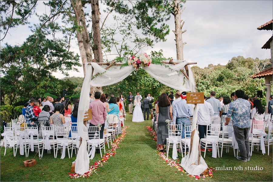 Garden Wedding At Cameron Highlands Jomqahwin Milan Teh Studio