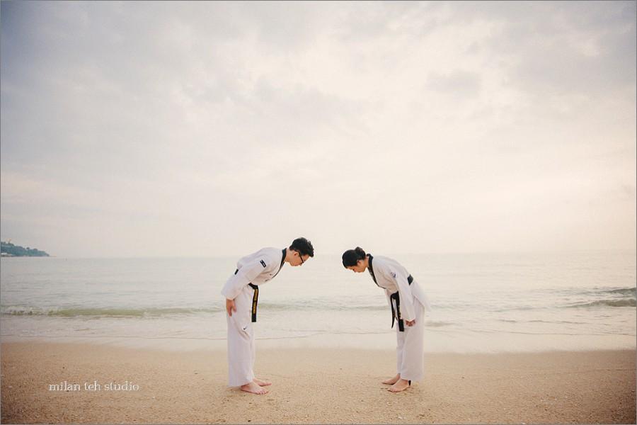 taekwondo-prewedding