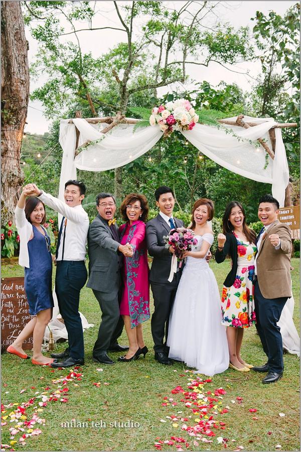garden wedding at cameron highlands
