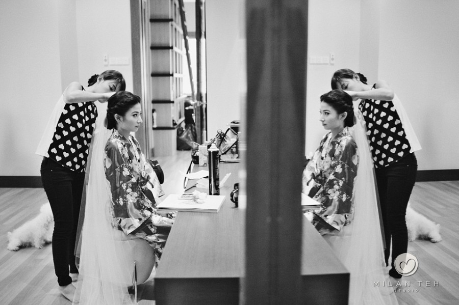 bride preparation penang wedding photography