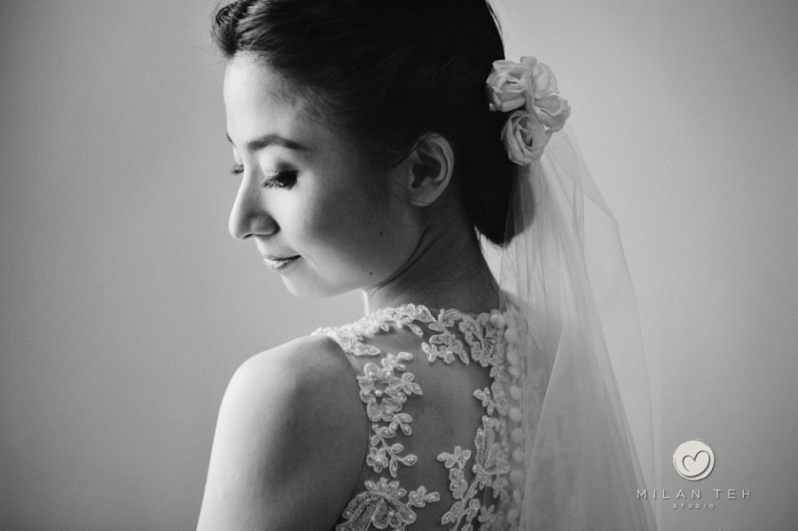 penang wedding photography gorgeous bride