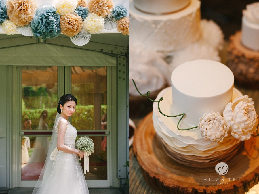penang wedding details with bride