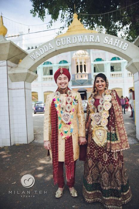 penang punjabi wedding photography