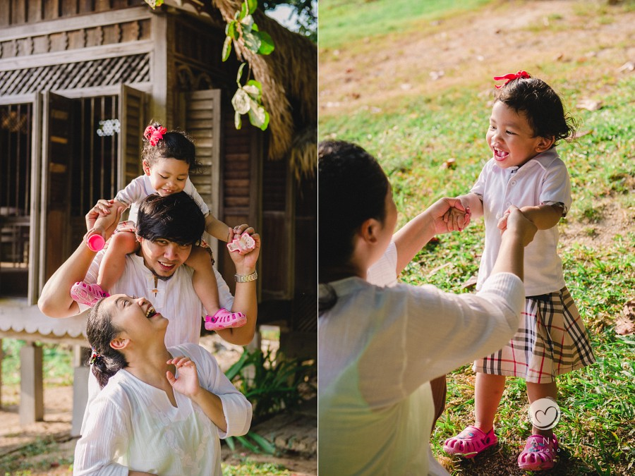 family photo shoot at bon ton resort langkawi