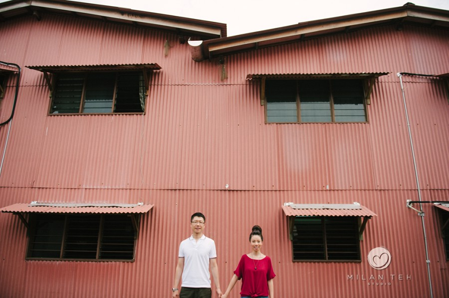 prewedding in penang chew jetty