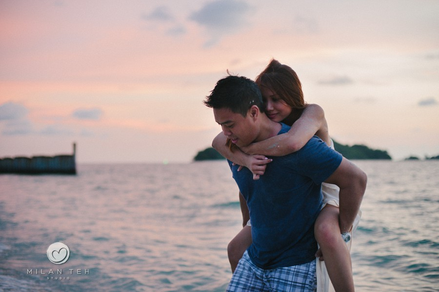 romantic prewedding in langkawi