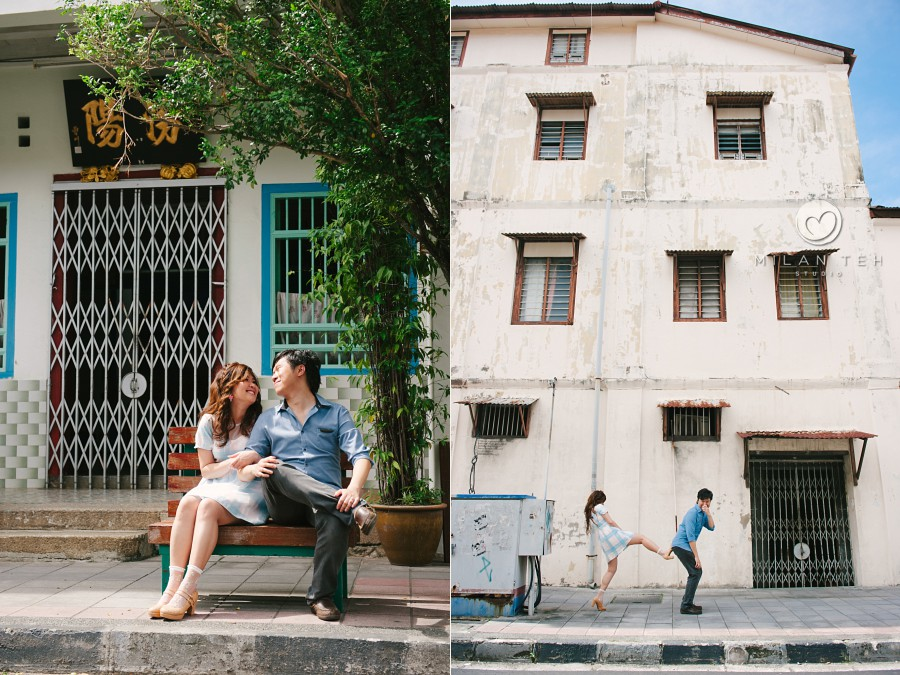funny couple photo at georgetown penang