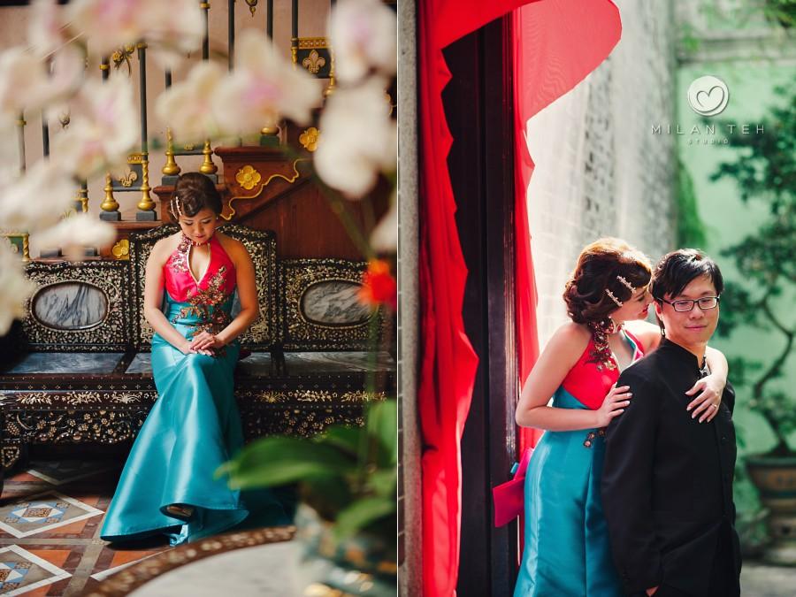 pinang peranakan mansion bridal portrait