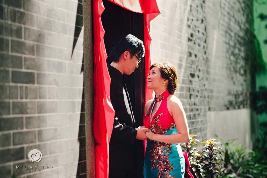 prewedding photography penang at peranakan mansion