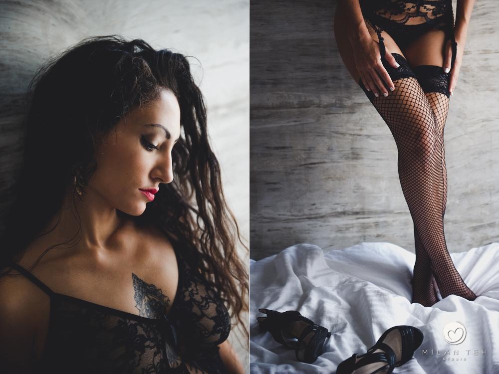 boudoir photo session girl in room penang