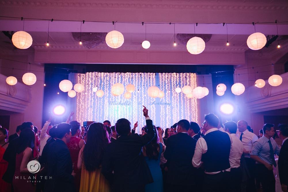 beautiful wedding reception at e&o hotel penang