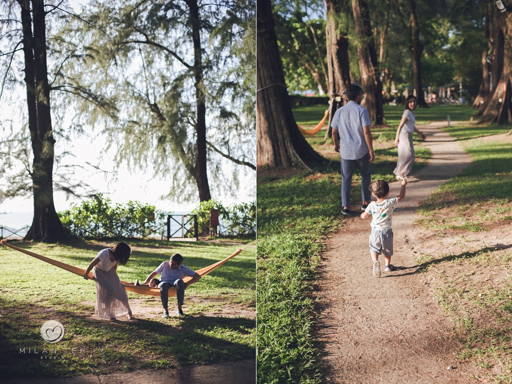 lifestyle family photography in penang lonepine hotel