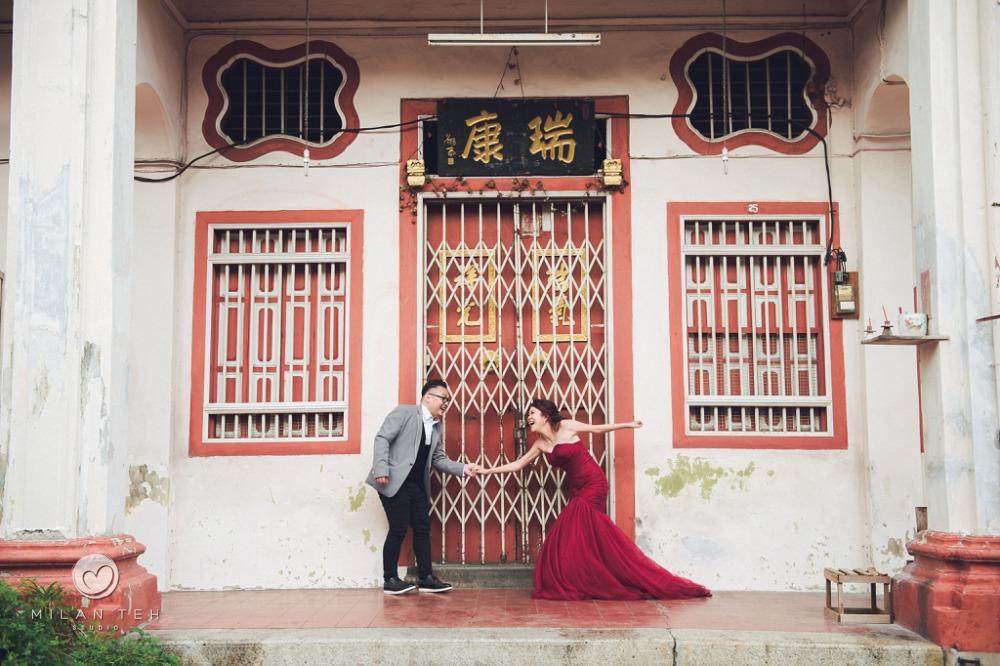 wedding photo in georgetown penang