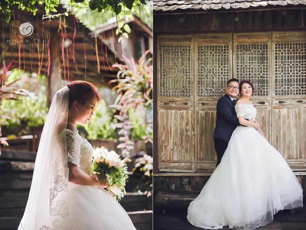 wedding portrait fig tree hill resort penang