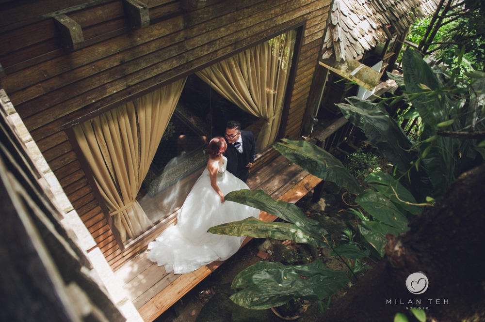 fig tree hill resort penang bridal portrait