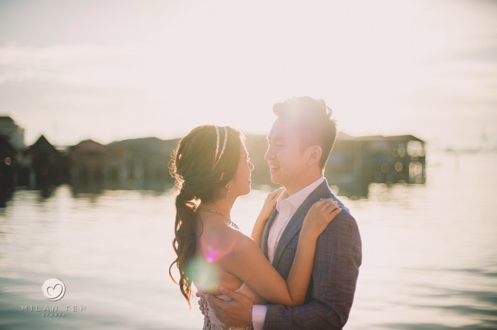 romantic prewedding in penang