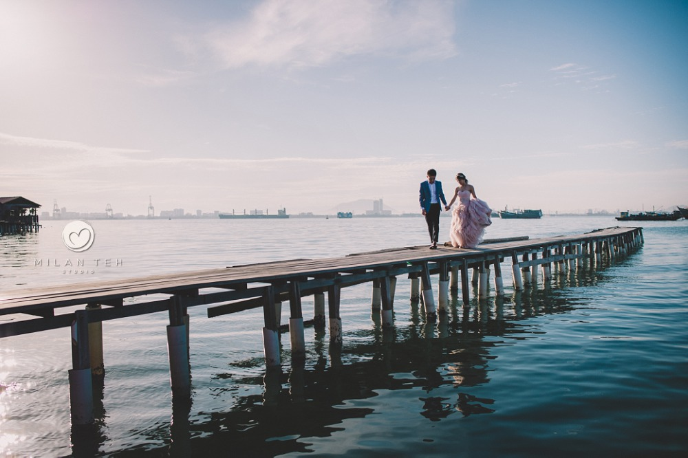 penang tan jetty prewedding