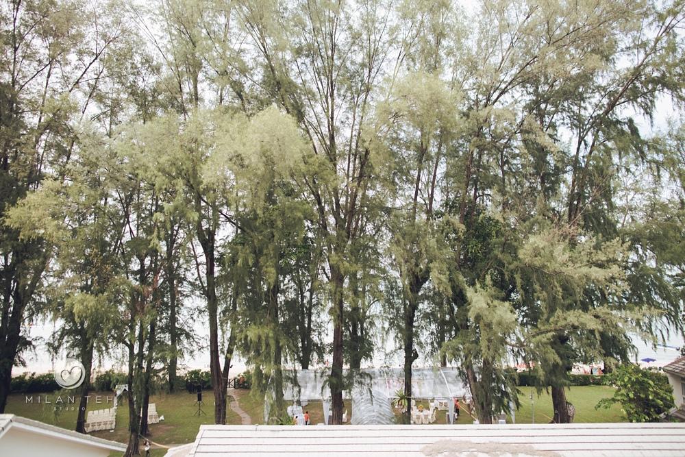 garden wedding at lone pine penang