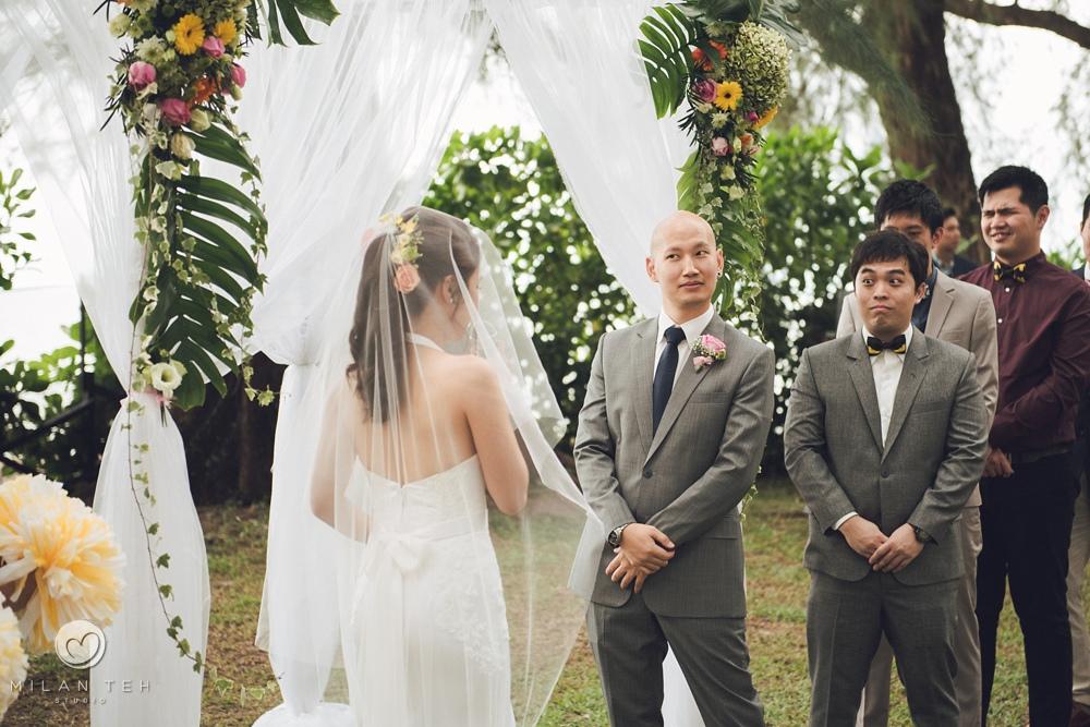 lone pine penang garden wedding ceremony