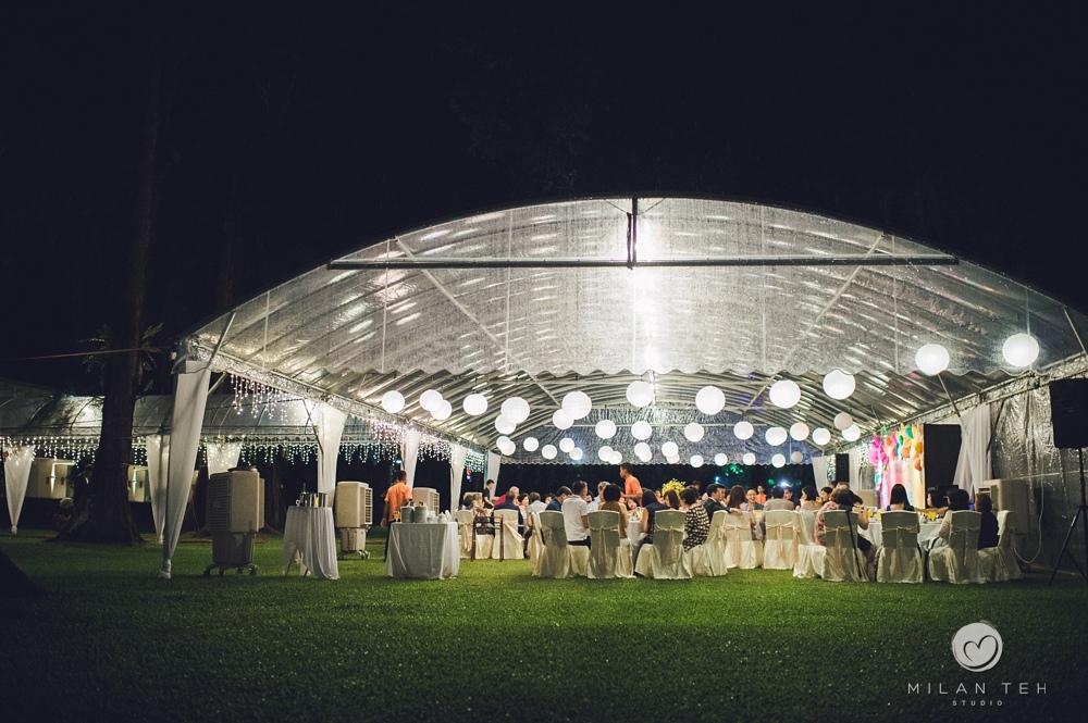 wedding dinner at lone pine hotel penang