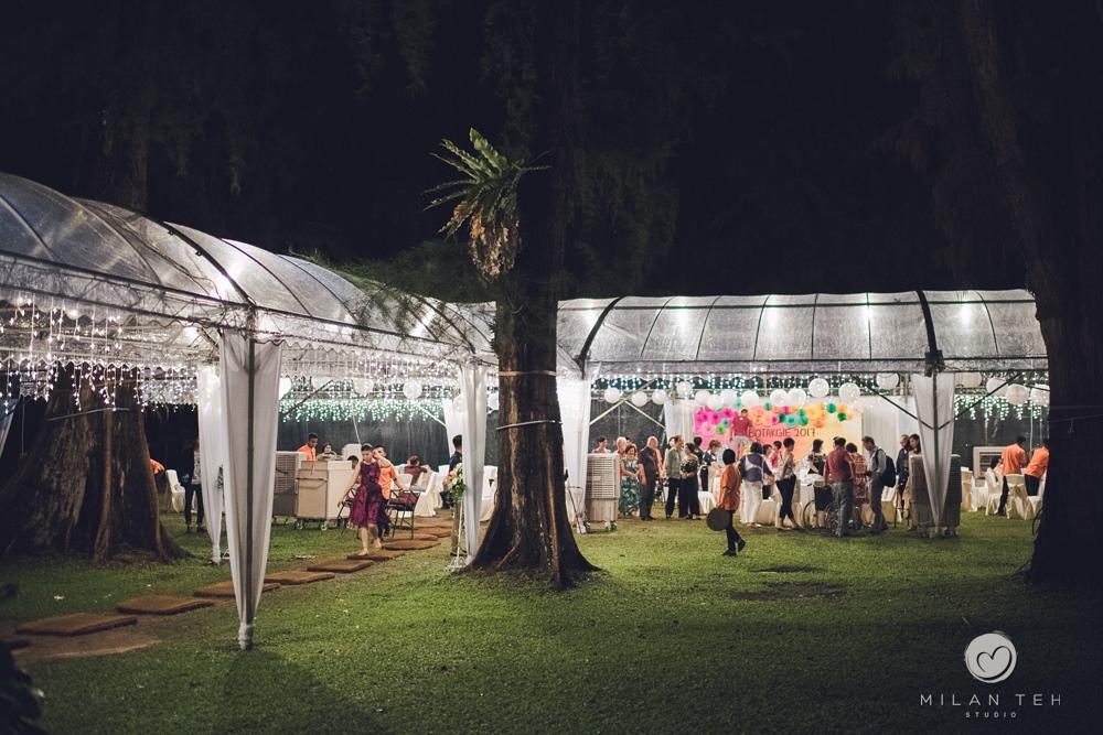 garden wedding dinner penang lone pine hotel