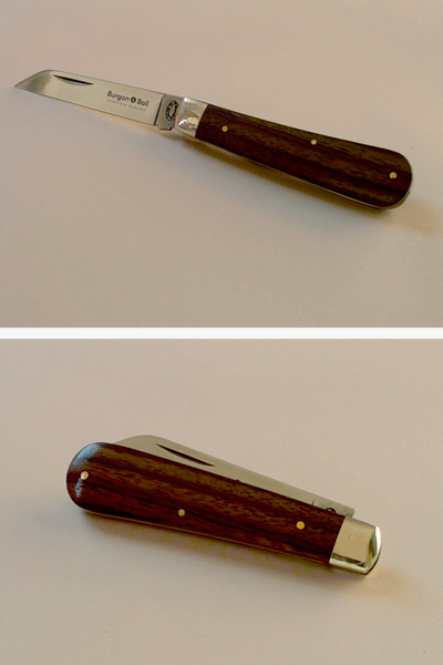 Gardening pocket knife