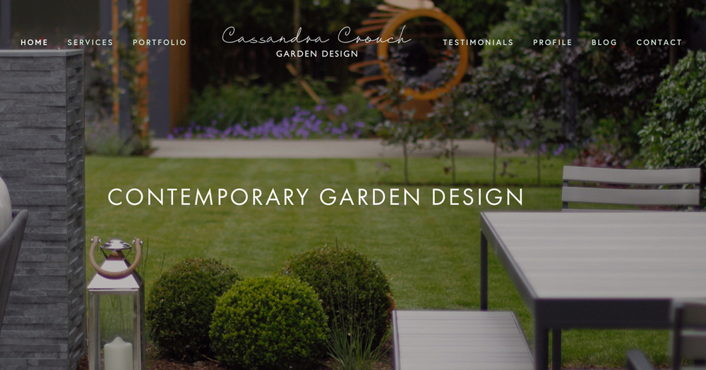 contemporary garden design london uk garden designer