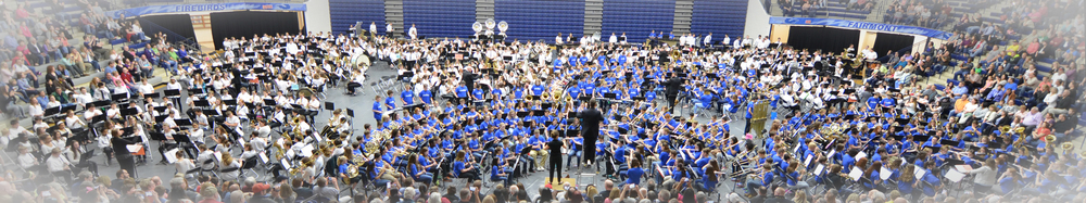 2016 Kettering All Band Concert - 872 Band Students perform at Kettering's Trent Arena!