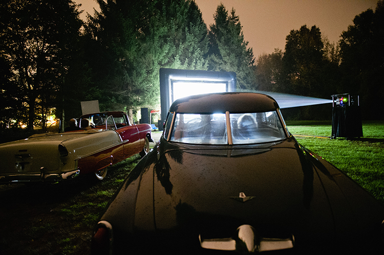 Vintage Cars at Lord Thompson Manor Wedding